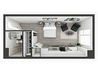 S6 Floor plan layout