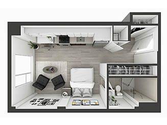 S8 Floor plan layout