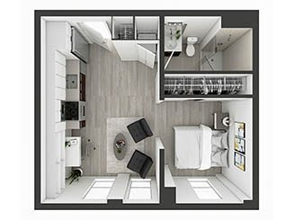 S9 Floor plan layout