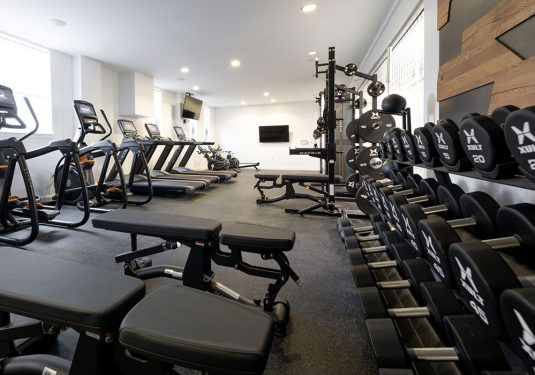 Fitness center At 1047 Commonwealth