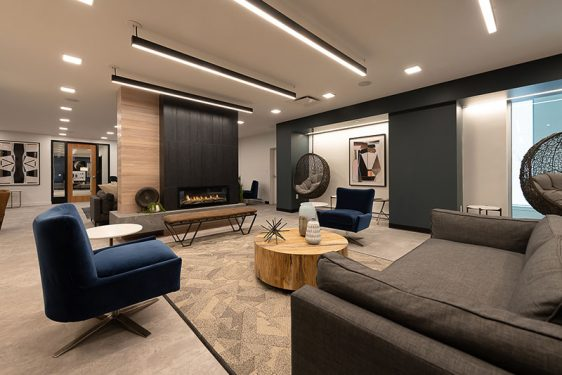 Resident Lounge At 1047 Commonwealth