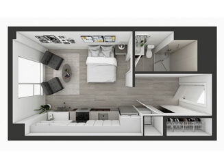 S3 Floor plan layout