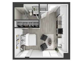 S4 Floor plan layout